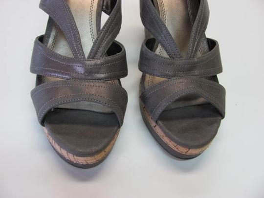 Impo Very Good Conditon Size 7.50 LIGHT BROWN Wedges Image 2