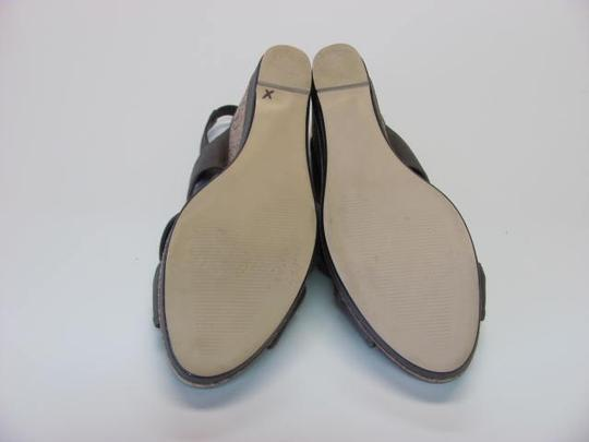 Impo Very Good Conditon Size 7.50 LIGHT BROWN Wedges Image 4