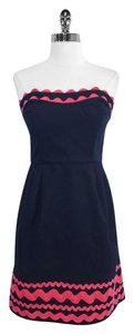 Vineyard Vines short dress Ric Rac Cotton Strapless on Tradesy