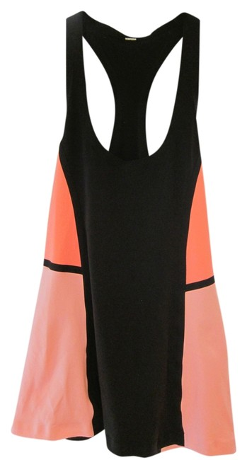 Item - Peach and Black Tank Activewear Sportswear Size 8 (M, 29, 30)