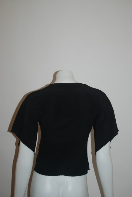 Emanuel Ungaro Top black/white