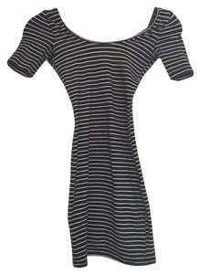 American Apparel short dress Fitted Stripes on Tradesy