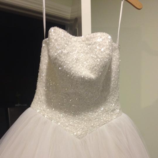 White Wedding Dress Size 6 (S)