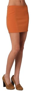 Diane von Furstenberg Mini Skirt orange