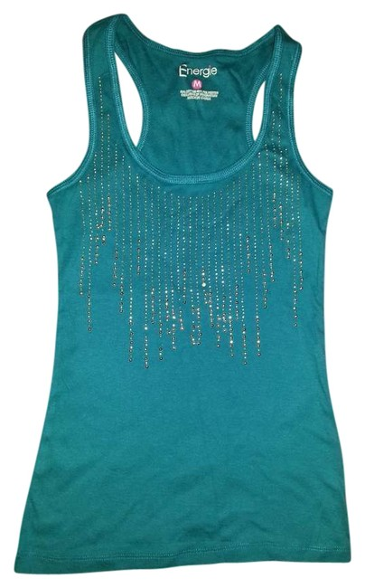 Preload https://item2.tradesy.com/images/energie-turquoise-blue-tank-topcami-size-petite-8-m-388731-0-0.jpg?width=400&height=650
