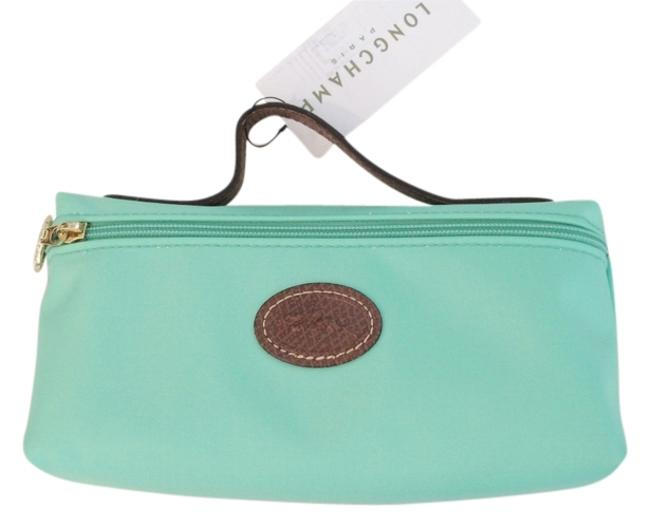 Item - Green Le Pliage Cosmetic Bag