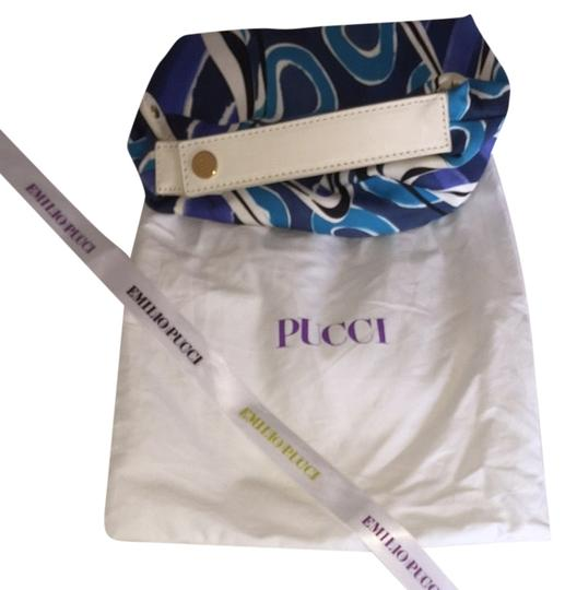 Preload https://item3.tradesy.com/images/emilio-pucci-blue-multi-silk-and-leather-wristlet-3887602-0-0.jpg?width=440&height=440