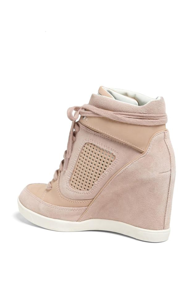 225b0fabeea French Connection Heel Wedge Leather Lining Synthetic Sole Suede Upper  Sneaker Wedge Sneaker Beige Boots Image. 1234567