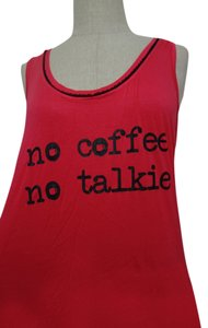 Tart short dress Red/Pink No Coffee No Talkie on Tradesy