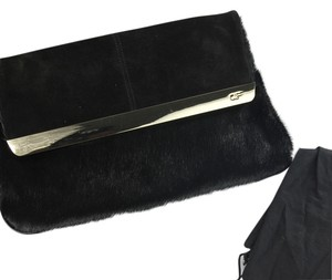 Anne Fontaine Spring Summer Black Clutch
