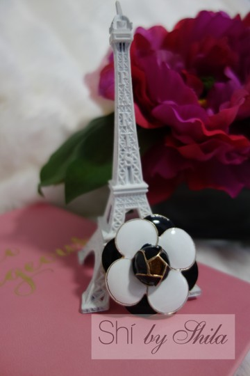Other Repurposed Chanel Lotus Flower Broach Image 7