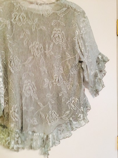Aqua Lace and Lining Light Tourquiose Formal Dress Size 14 (L)