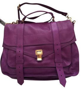 Proenza Schouler Grape Jam Messenger Bag