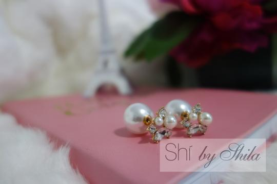 """Other """"Daliah"""" Two sided earings"""