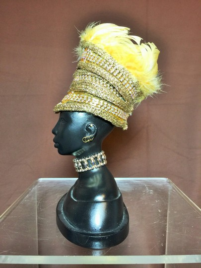 """Other """" In Honor of Queen Amina """" Sculpture by Harriet Rosebud ; Great Queens of Africa Crown Collection #3201 ( 7.75""""h ) [ SisterSoul Closet ]"""
