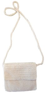 The Sak Off White Knit Cross Body Bag