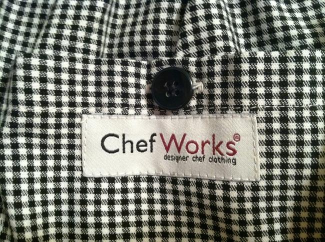 Chef Works Basic Baggy Pants checkered black & white