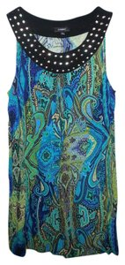 Elementz short dress multi colors on Tradesy
