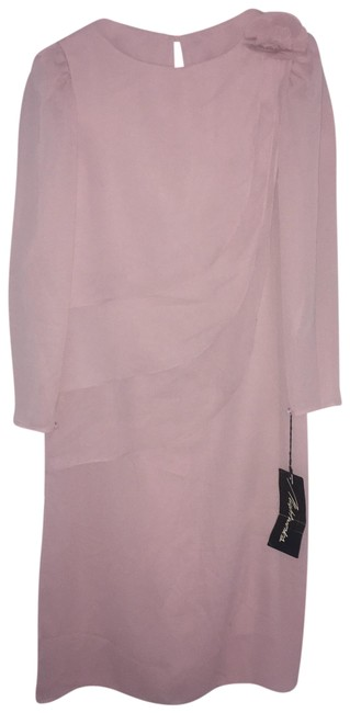 Preload https://img-static.tradesy.com/item/3889789/pink-long-sleeve-flowy-mid-length-cocktail-dress-size-12-l-0-2-650-650.jpg