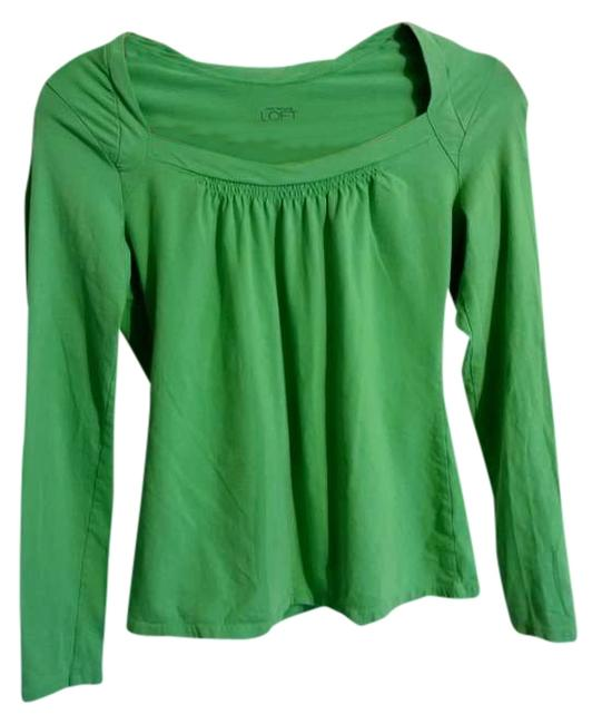 Ann Taylor LOFT Top green