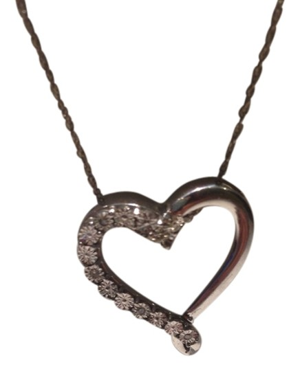 Other Silver Heart Necklace