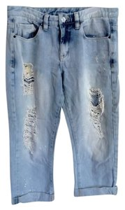 Blank Denim Capri/Cropped Denim-Light Wash
