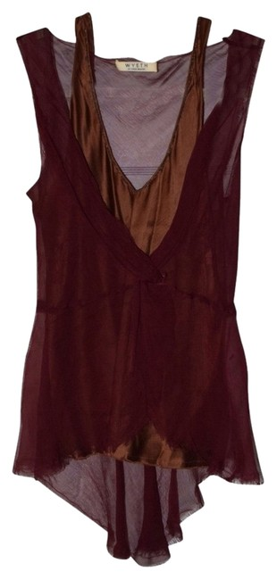 Wyeth by Todd Magill Top Maroon