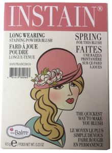 The Balm NWT The Balm - INSTAIN Long-Wearing Powder Staining Blush in Argyle (Petal Pink)