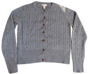 Lands' End Preppy Wool Cardigan