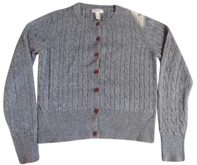 Preload https://img-static.tradesy.com/item/3890365/lands-end-grey-canvas-soft-cardigan-size-6-s-0-0-650-650.jpg