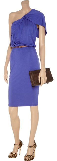 Preload https://item3.tradesy.com/images/robert-rodriguez-purple-one-shoulder-draped-above-knee-night-out-dress-size-0-xs-3890437-0-0.jpg?width=400&height=650