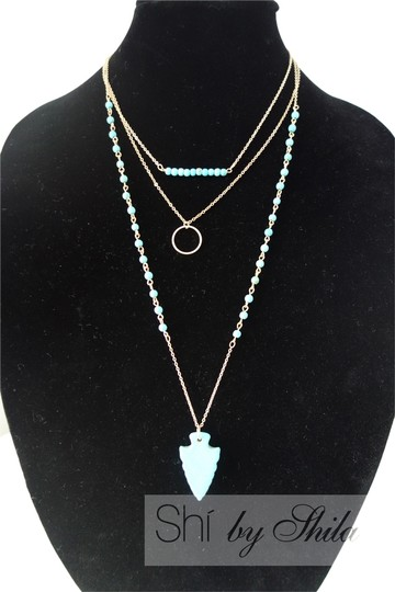 Preload https://item1.tradesy.com/images/turquoise-azurine-beads-and-statement-necklace-3890500-0-0.jpg?width=440&height=440
