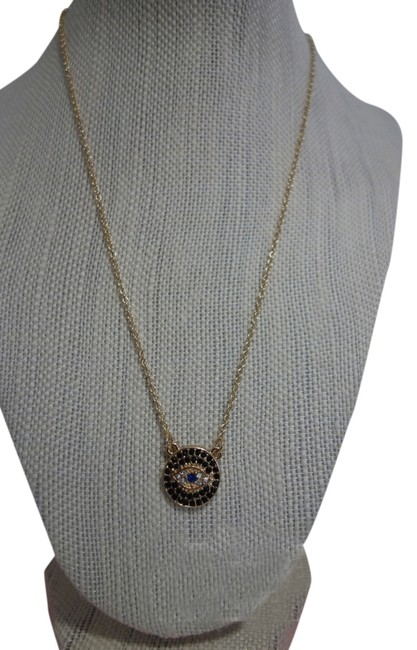 "Multicolor ""Edan"" Evil Eye Protection Necklace Multicolor ""Edan"" Evil Eye Protection Necklace Image 1"