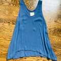 Chaser Blue Gauzy Sheer Tank Top/Cami Size 2 (XS) Chaser Blue Gauzy Sheer Tank Top/Cami Size 2 (XS) Image 8