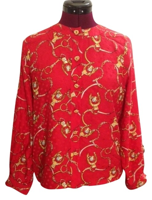 Preload https://item3.tradesy.com/images/red-blouse-s-button-down-top-size-6-s-3890797-0-0.jpg?width=400&height=650