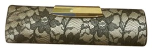 Dune London Dune Formal Black and white Clutch