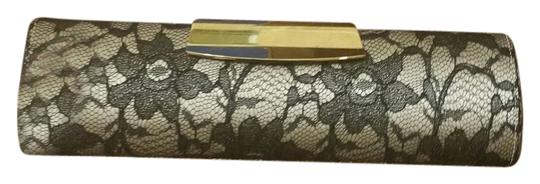 Dune London Formal Black and white Clutch