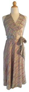 Newport News Missoni Party Halter Halter Dress
