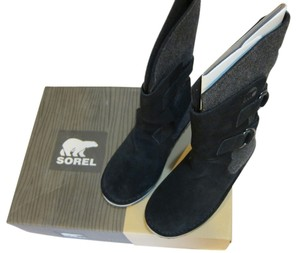 Sorel Black and Gray Boots