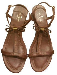 Kate Spade Leather Brown Sandals