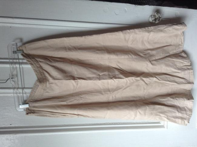 H&M Maxi Skirt Tan