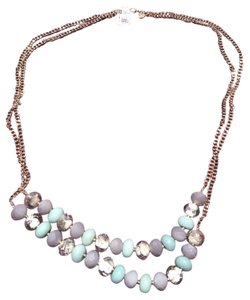 Ann Taylor LOFT Mix Media Necklace