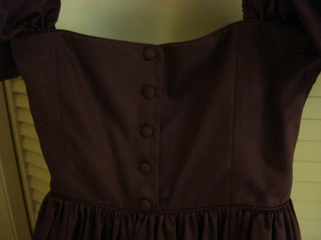 Laura Ashley Tea Length Tudor Vintage Dress