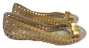 Tory Burch Gold/silver Two-tone Flats
