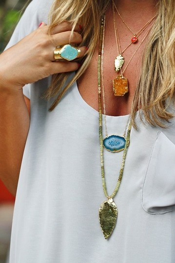 Other 5 Statment Necklace Bundled in 1 Image 8