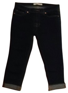 J Brand Capri/Cropped Denim-Dark Rinse