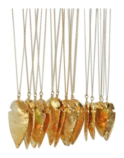 "Gold ""Rosebell"" Golden Arrow Necklace Gold ""Rosebell"" Golden Arrow Necklace Image 1"