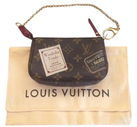 762acdfe0 Louis Vuitton Illustre Limited Edition Trunks And Bags Pochette Mini  Pochette Canvas Trunks And Labels Labels ...
