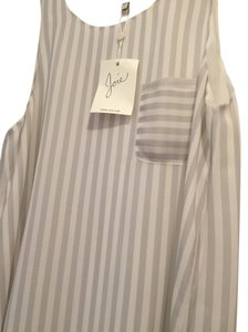 Joie Top striped grey/purple