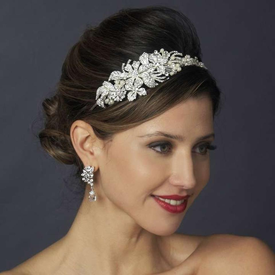 Beautiful pearl wedding headbands with synthetic and freshwater pearls complimented by rhinestones or crystals!